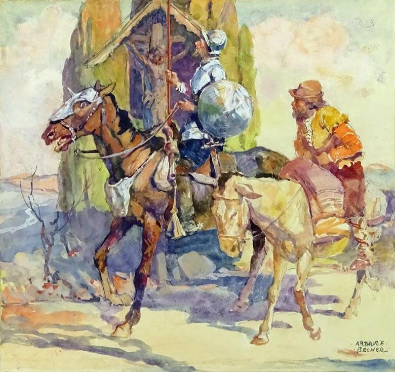 Quixote_1925_ArthurErnestBecher_780